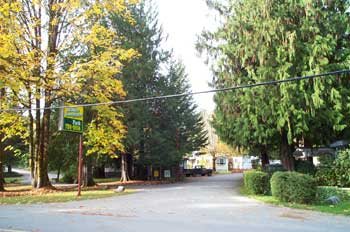 Sproat Lake Mobile Home Park - Entrance